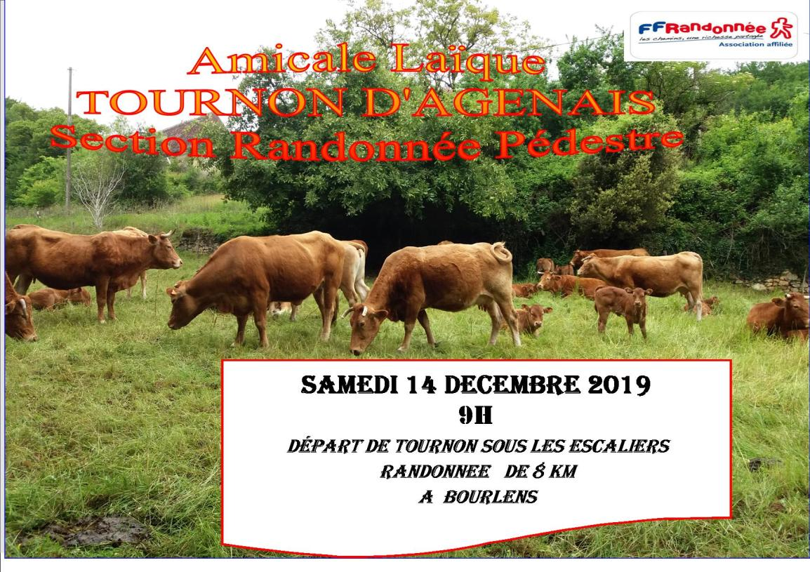 infos RANDO SAMEDI 14 dec 2019 Publisher